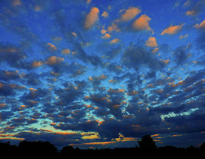 Photograph - L Sunset by Mark Blauhoefer