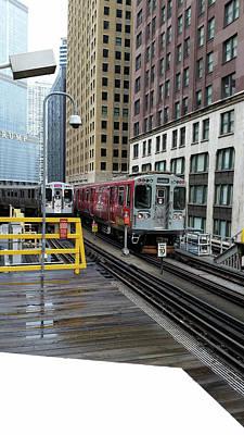 Photograph - L Train Race by Zac AlleyWalker Lowing