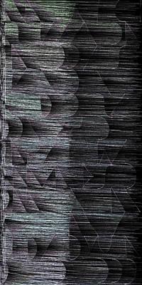 Generated Digital Art - l14-FFE0F9-2x4-1200x2400 by Gareth Lewis