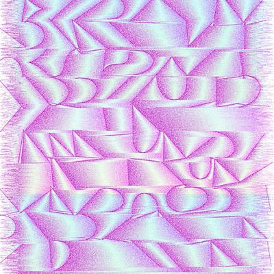 Drawing Digital Art - l15-C200BB-3x3-1800x1800 by Gareth Lewis