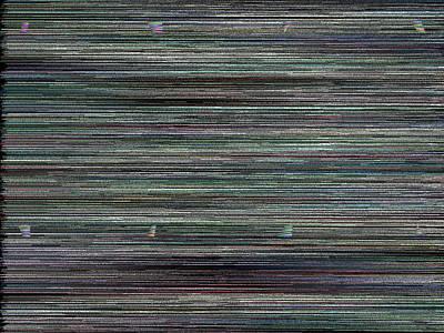 Digital Abstract Digital Art - L16-27 by Gareth Lewis
