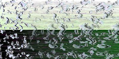 Horizon Digital Art - L18-186 by Gareth Lewis