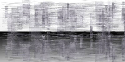 Clouds Digital Art - L19-96 by Gareth Lewis