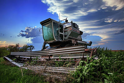 Combine Photograph - L2 by Thomas Zimmerman