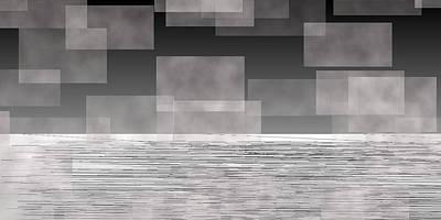 Digital Abstract Digital Art - L20-225 by Gareth Lewis