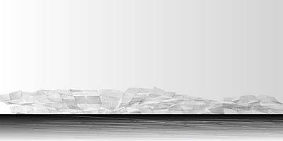 Mountain Digital Art - L21-12 by Gareth Lewis