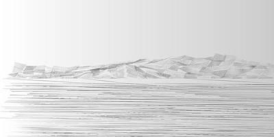 Wind Digital Art - L21-23 by Gareth Lewis