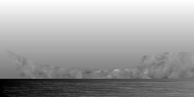 Water Digital Art - L21-59 by Gareth Lewis