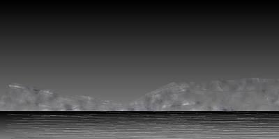 Mountain Digital Art - L21-74 by Gareth Lewis