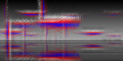 Bright Digital Art - L24-40 by Gareth Lewis