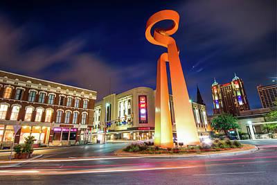 Photograph - La Antorcha De La Amistad - Torch Of Friendship - San Antonio by Gregory Ballos