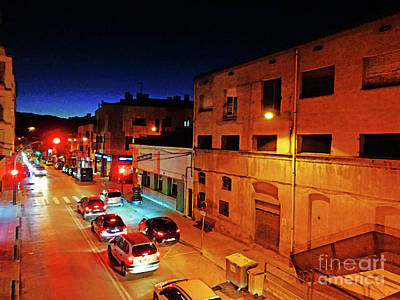 Photograph - La Avenue In The Evening 2 by Don Pedro De Gracia
