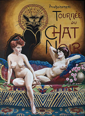 Painting - La Belle Epoque by Jo King