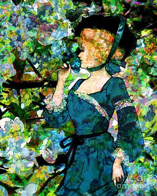 Digital Art - La Belle Fleur 2016 by Kathryn Strick