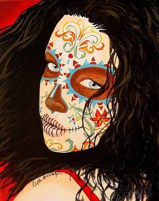 Mexico Painting - La Belleza En El Viento by Al  Molina