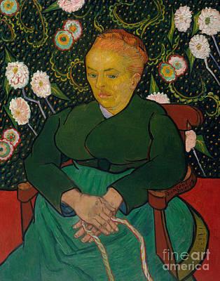 Attitude Painting - La Berceuse, 1889  by Vincent Van Gogh