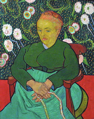 Painting - La Berceuse Anagoria by Vincent van Gogh