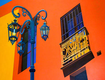 Painting - La Boca Street Scene 36 by JoeRay Kelley