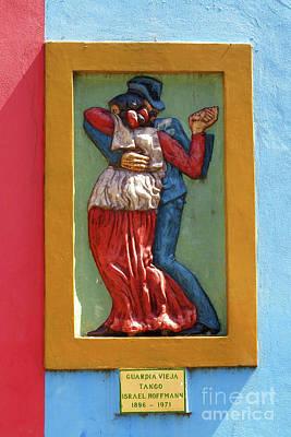 Photograph - La Boca Wall Sculpture 1 by Vivian Christopher