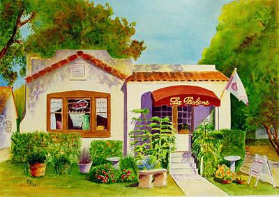 Painting - La Boheme by Karen Fleschler