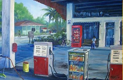 Painting - La Bomba, Puerto Jimenez by Michael Cranford