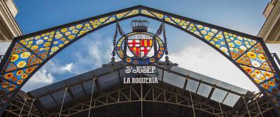 La Bouqueria Market - Barcelona Spain Art Print by Jon Berghoff
