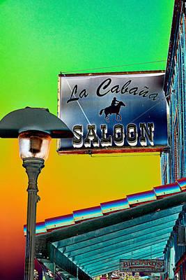 Photograph - La Cabana Saloon  by Saija Lehtonen