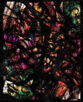 Symphony Digital Art - La Cadence D'un Reve by Gary Bodnar