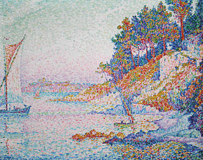 Painting - La Calanque by Paul Signac