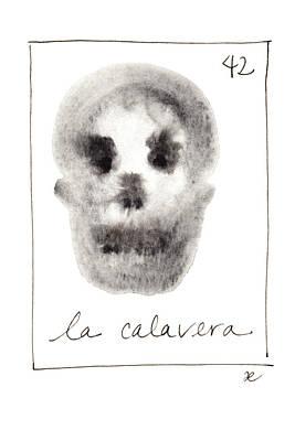 Painting - La Calavera by Anna Elkins