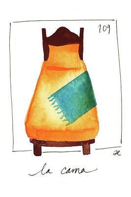 Painting - La Cama by Anna Elkins