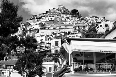 Photograph - La Cambusa In Positano by John Rizzuto