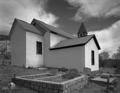 Photograph - La Capilla San Patricio New Mexico by Nathan Mccreery