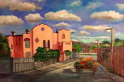 Painting - La Casa De Mi Amiga Olga by Randy Burns