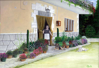 La Casa De Nonna Loreta Art Print
