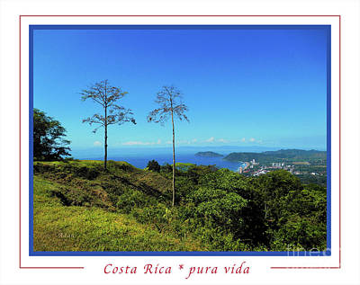 Photograph - la Casita Playa Hermosa Puntarenas Costa Rica - Lost on Parrot Hill Greeting Card Poster by Felipe Adan Lerma