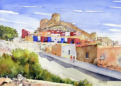 Painting - La Chanca Almeria by Margaret Merry