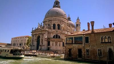 Photograph - La Chiesa Santa Maria  Venice by Rusty Gladdish
