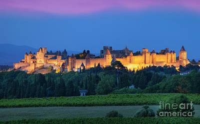 Photograph - La Cite Carcassonne by Brian Jannsen