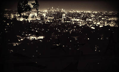 Digital Art - La City Boy - 1/5 by John Waiblinger