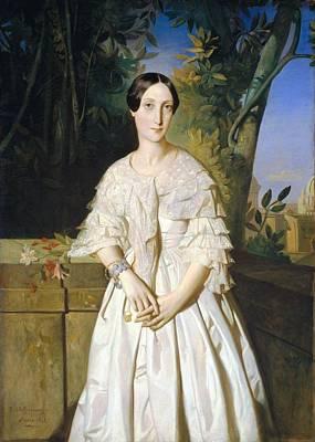 Marie Louise Painting - La Comtesse De La Tour Maubourg by MotionAge Designs
