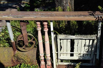 Photograph - La Conner Fence 1 by Tom Cochran