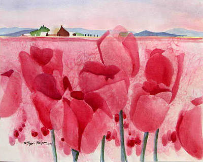 Painting - La Connor Tulips by Sherri Bails