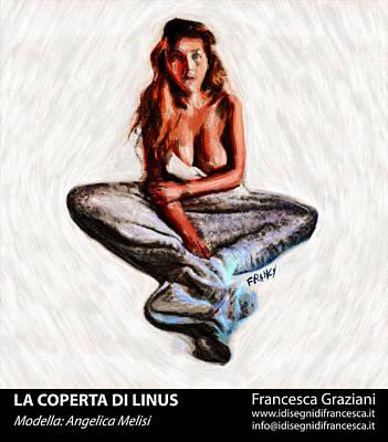 Linus Wall Art - Painting - La Coperta Di Linus by Francesca Graziani