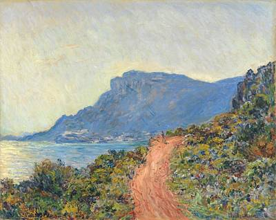 Painting - La Corniche Near Monaco  Claude Monet 1884 by R Muirhead Art