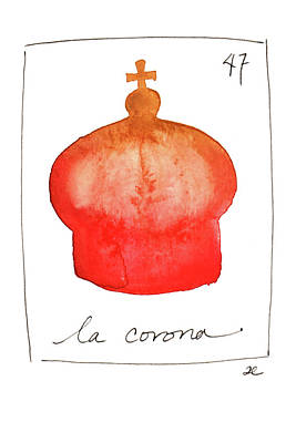 Painting - La Corona by Anna Elkins