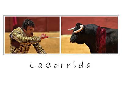 Corrida Photograph - La Corrida by Michael Mogensen