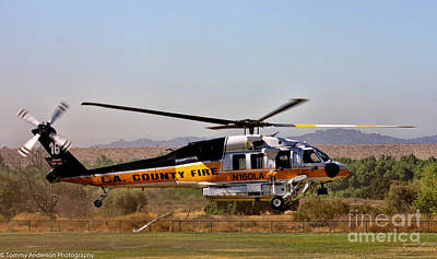 Granger - LA County Fire Air Support by Tommy Anderson