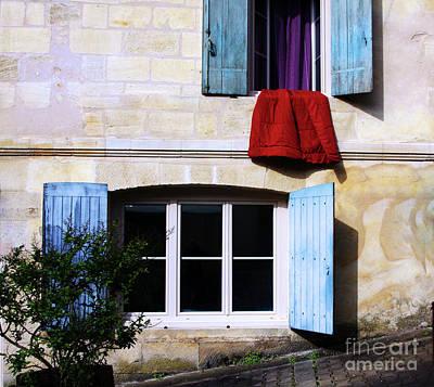 Photograph - La Courtepointe Rouge by Rick Locke