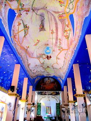 Photograph - La Crucita Church Interior by Randall Weidner